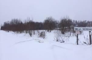 Коттеджный поселок рядом со Смоленском стал труднодоступным местом