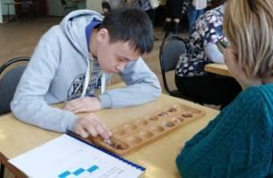 Впервые в Смоленске прошел Всероссийский фестиваль настольных игр инвалидов по зрению