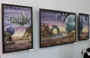На Смоленщине проходит космическая выставка