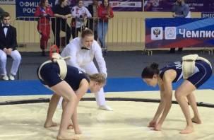 Юная смоленская сумоистка – среди победителей чемпионата России
