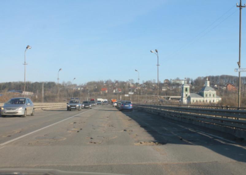 Крестовоздвиженский мост через Днепр убит полностью