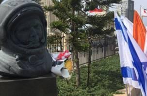 Памятник Юрию Гагарину торжественно открыли в Израиле