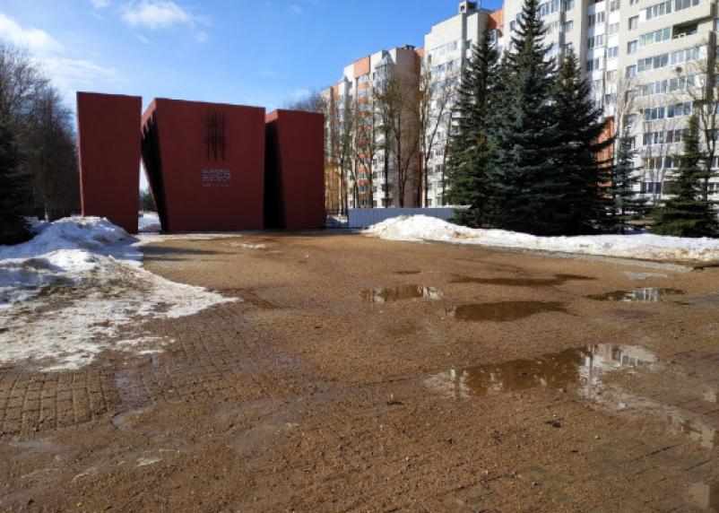 Откуда в Смоленске весной песчаные бури
