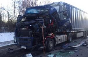 Жертв чудом удалось избежать. Появились подробности серьезной аварии в Вяземском районе на М1