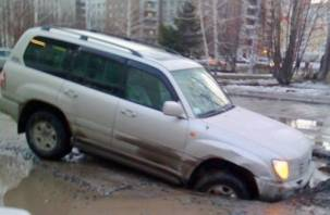 Семь шагов для водителей по возмещению ущерба, попавших в дорожную яму