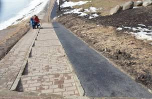 Парк 1100-летия Смоленска не для инвалидов