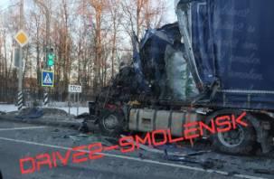 В Сети появилось видео последствий страшной аварии на трассе М1