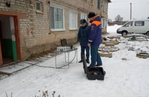 «Струна-M» из Курска работает на месте ЧП в Ярцевском районе. Появились фото и видео