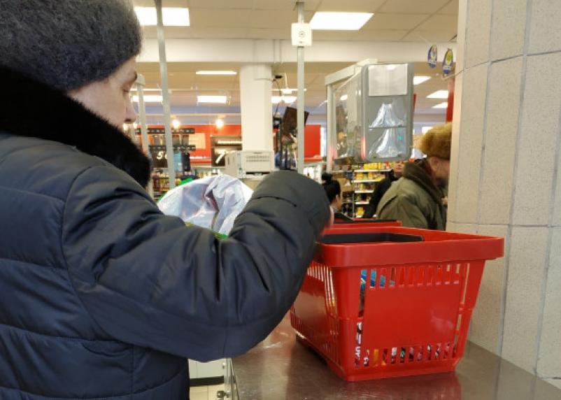 Средний чек россиян в магазине упал