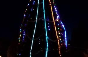 В Сафонове новогодняя елка стала «символом» 8 марта