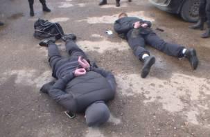 Оперативное видео задержания поджигателей авто в Смоленске попало в Сеть