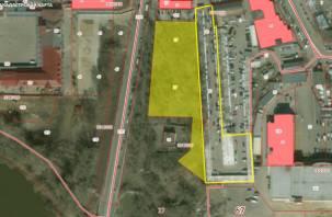 В Смоленске для будущего аквапарка «отрежут» часть территории оптового рынка