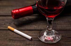 В каких дозах табак и спиртное могут вызвать онкологию