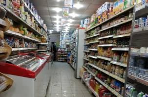 Смолянин обчистил продуктовый магазин на 20 тысяч рублей