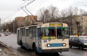 Завтра в Смоленске на 60 минут изменится движение троллейбусов