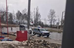 В районе дамбы в Смоленске сбили велосипедиста