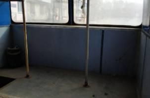 Смоляне жалуются на грязные троллейбусы