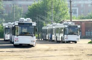 Смоленску передадут 30 московских троллейбусов