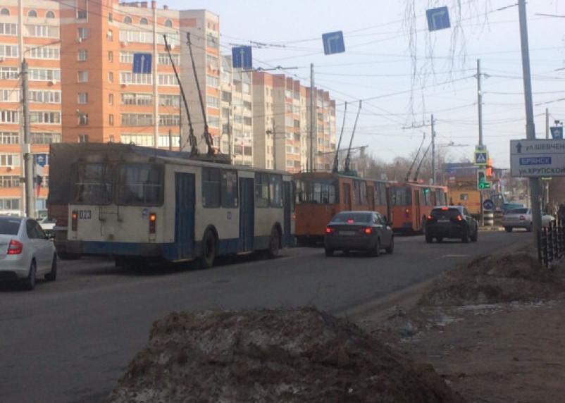 В Смоленске стали троллейбусы