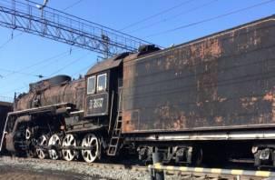 Прошли через Курган. Старинные паровозы направляются в Смоленск