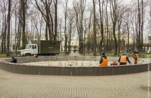 Когда в Смоленске запустят городские фонтаны
