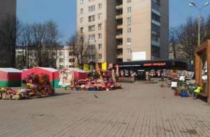 В Смоленске установили мораторий на ярмарку