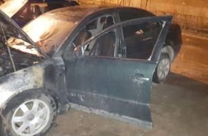 В Смоленской области сгорели две машины