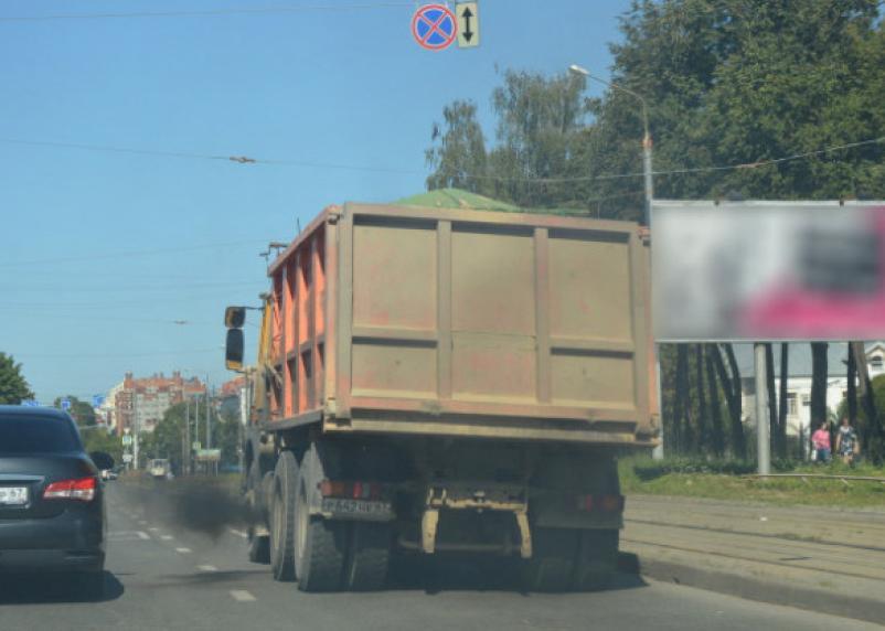В Смоленске большегрузам запретили ездить по семи улицам
