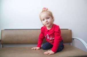 В 11 месяцев девочке поставили страшный диагноз. Маленькой вязьмичке требуется помощь