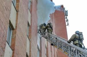 Пожар в общежитии смоленского медуниверситета ликвидирован