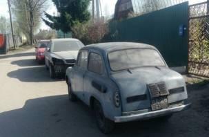 Раритетный автомобиль 1965 года нашли в Смоленской области