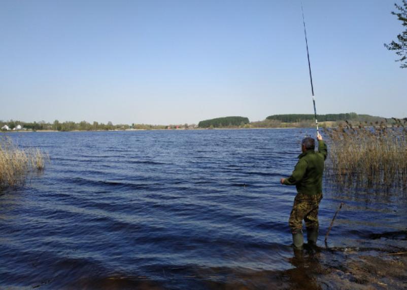 В Гагаринском районе на водохранилище поймали браконьера