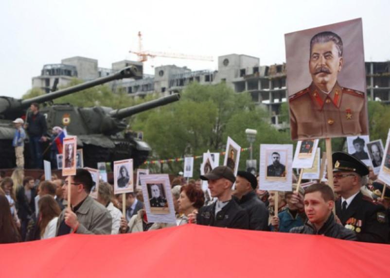 В «Бессмертном полку» рассказали, можно ли прийти с портретом Сталина