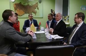 Смоляне обсудили с белорусами приграничное сотрудничество