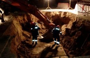 В Смоленске Квадра продолжает ремонтировать тепловые сети
