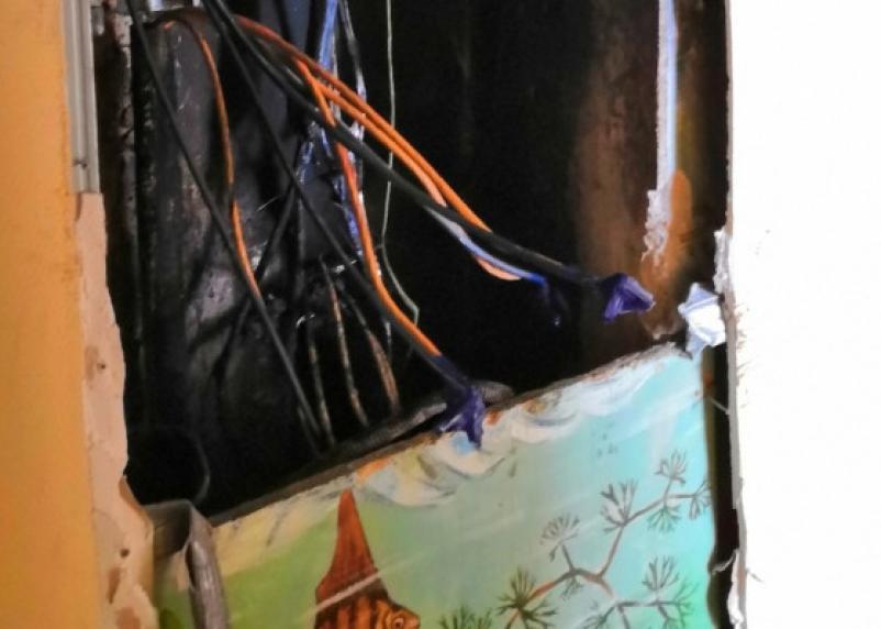 При пожаре в Ярцеве спасены десять человек