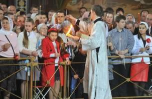 В смоленский храм доставят Благодатный огонь