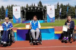 Смолянка поставила два рекорда на Всероссийских соревнованиях