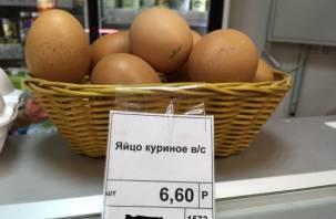 В Смоленске начали продавать яйцо поштучно