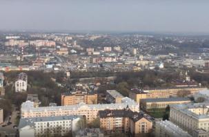 Смолянин снял на видео город с запрещенного объекта