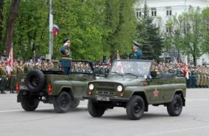 В Смоленске состоялся военный парад в честь Дня Победы