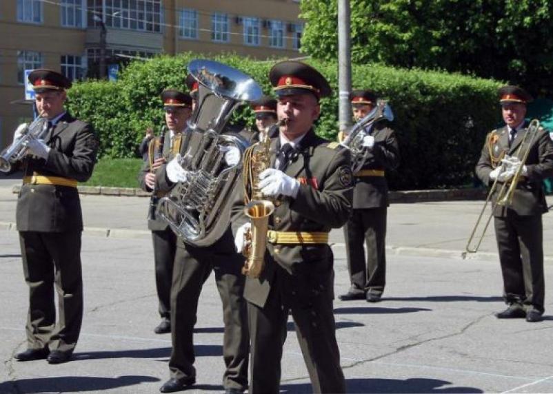 Фестиваль духовых оркестров прошёл в Смоленске