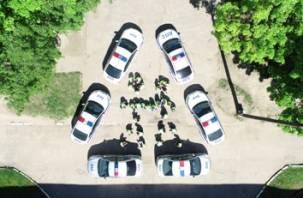 Флэшмоб в Смоленске попал на видео