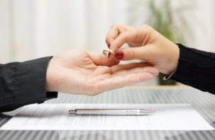 В Смоленской области резко увеличилось число разводов
