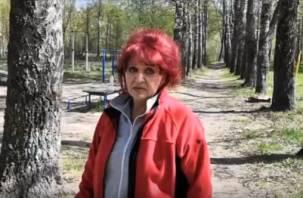 Жители Смоленска требуют от властей остановить беспредел с вырубанием берёзовой рощи