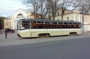 В Смоленске закрывают движение трамваев по проспекту Гагарина