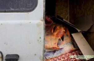 На Смоленщине утилизировали тонну опасной говядины
