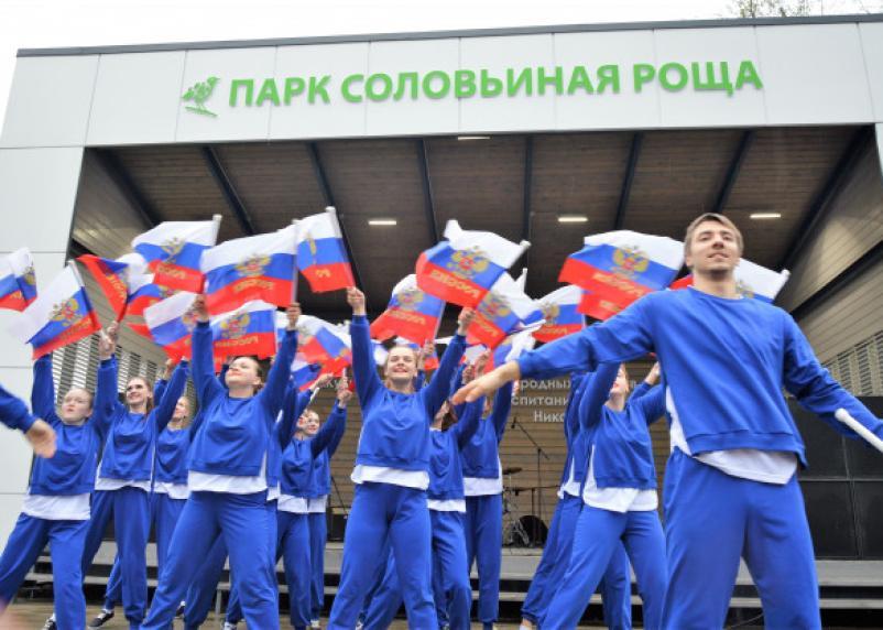 Танцы под дождём. Репортаж с открытия парка в Соловьиной роще
