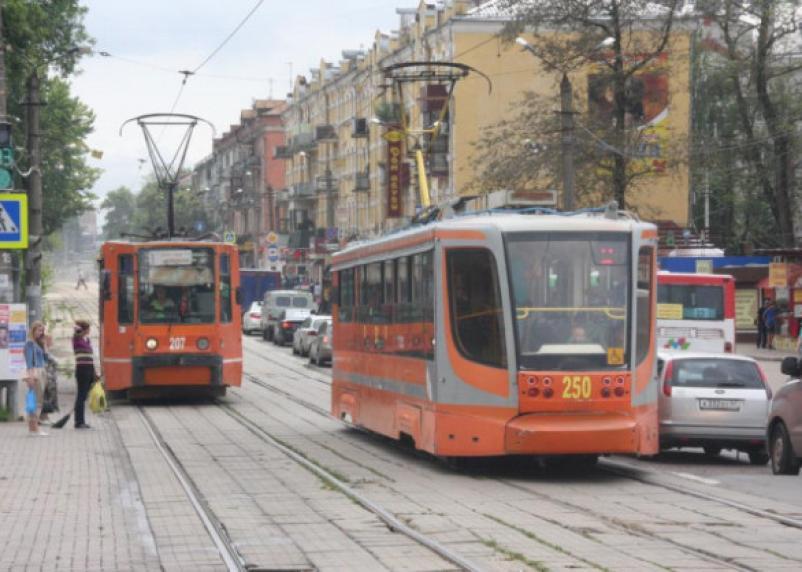 Трамваи прекращают движение в центре Смоленска на два месяца