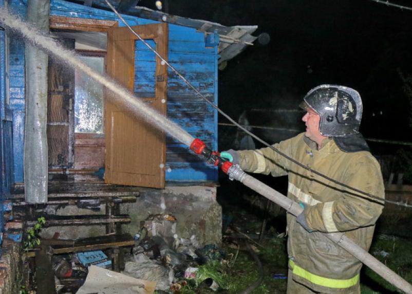 В Смоленске на Московском шоссе сгорел мужчина
